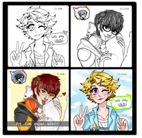 [Collab]: Mystic Messenger Switch! by SimplyDefault