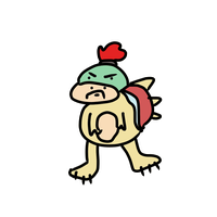 Bowser Jr but on PC by SolangeGag