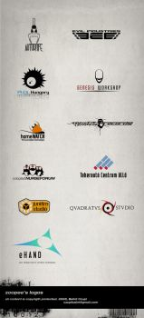 logo types by zoopee by zoopee