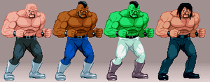 Abobo fgt-size sprites by PrimeOp