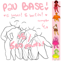 P2U BASE | $5 / 500 points 5 bases by cvrryspice