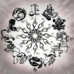 Zodiac Sign Tattoo by MPtribe