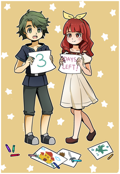 Three More Days by mgcoco