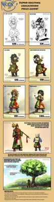 Super Exciting Commission Price Guide by Th4rlDEAL