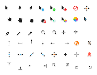 Capitaine cursors by krourke