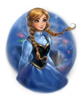 Frozen: Anna by daekazu