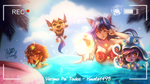 Ahri PoolParty and more by Hinata1495