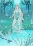 Hydris the swamp mermaid by MoonchildinTheSky