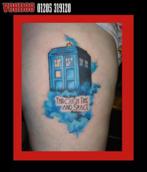tardis tattoo by yayzus