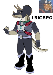 Dinosaucer: Tricero 2008 by HewyToonmore