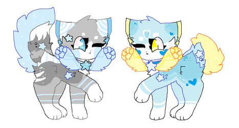GALIXPAWS ADOPTS BATCH #1 (CLOSED!!) by puppie-parade