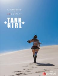 Tank Girl Preview 1 by KayLynn-Syrin