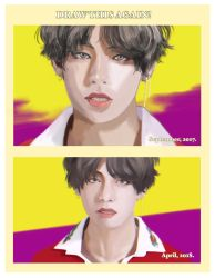 Draw This Again! Taehyung. by orehyeonggie