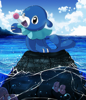 Popplio by Suesanne