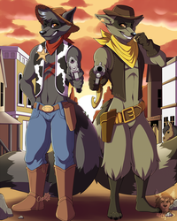 Commission: Old West by Blitzy-Arts