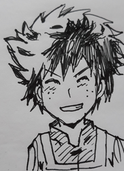 Deku pen sketch by Fran48