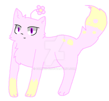 Fluffy Cupcake paws Adopt Pastel Petals(CLOSED) by Bea-the-pancake-cat