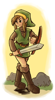 Hero of Hyrule by nessperez