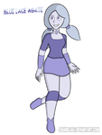 SU Oc Blue Lace Agate By Jchanel404 by QuestionUnicorn