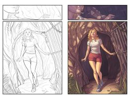 Morning glories 25 page 48 by alexsollazzo