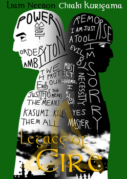 Legacy of Eire - Typography poster by stevemacqwark