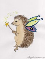 Hedgehog Fairy by Lemoncholic