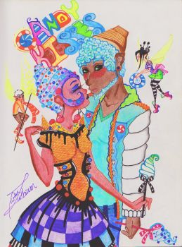 Candy kisses by LBPBOY