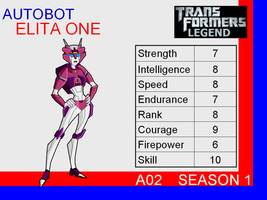 Transformers: Legend A02 - (Elita One) by skyscream1