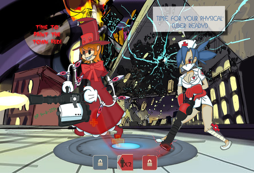 Skullgirls 2 (non-offical) by SA-Corpse