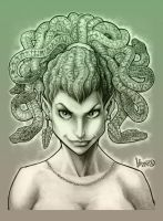 Everybody's Favorite Gorgon by MRHaZaRD