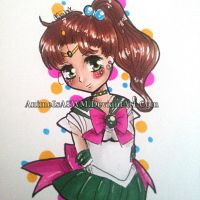 Sailor Jupiter by AnimeIsASWM