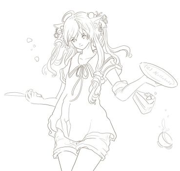 Lineart for Coloring by Hellobaby