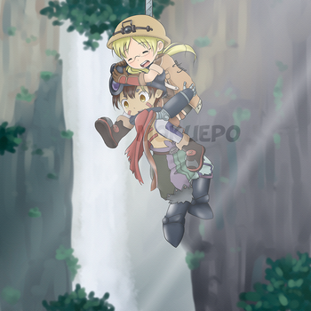 Made in Abyss FanArt by mokuepo