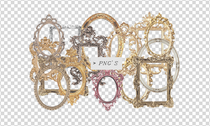 Frames Png by Discopada