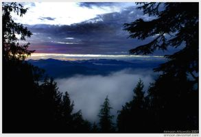 Misty Sunset Two by armaan