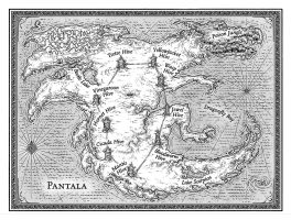 Map of Pantala by talons-and-tails