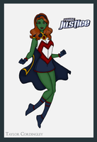 Young Justice - Miss Martian Redesign by Femmes-Fatales
