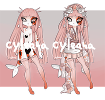 Koi Princess Gleamstic Auction [CLOSED] by Cyleana