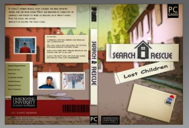 SNR Game DVD layout by ArsalanAly