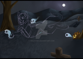Halloween Themed YCH Auction :closed:: by Wolfvids