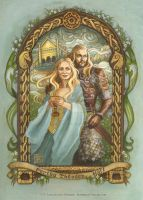 Meduseld, farewell to Theoden by BohemianWeasel
