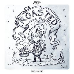 INKTOBER 2018 Day3 - Roasted by Sephiroth-Art
