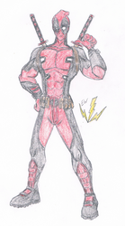 Deadpool by thesoniczone11