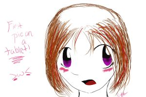 first pic on a tablet by ldybg95