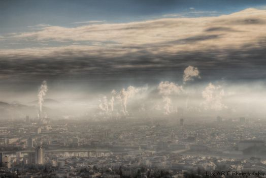 industrial apocalypse by LexartPhotos