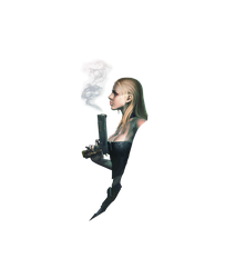 Devil May Cry 4 Special Edition Trish Render PNG by GamingDeadTv