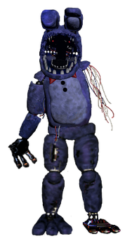 withered bonnie full body by joltgametravel on deviantart