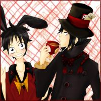OP: March Hare and Mad Hatter by Kimoto-chan