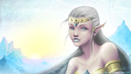 Elven (edited!) by Vanderstorme