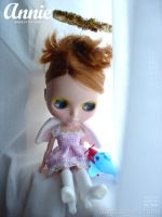 Annie Angel - blythe fashion by chun52